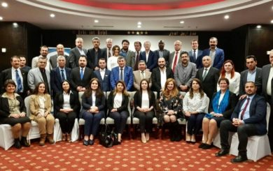 Group photo og speakers and attandees at the workshop Photo: Sara Hamdy/NPA