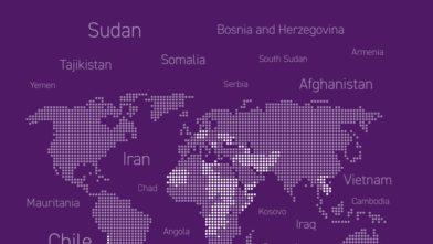 Purple MAR map