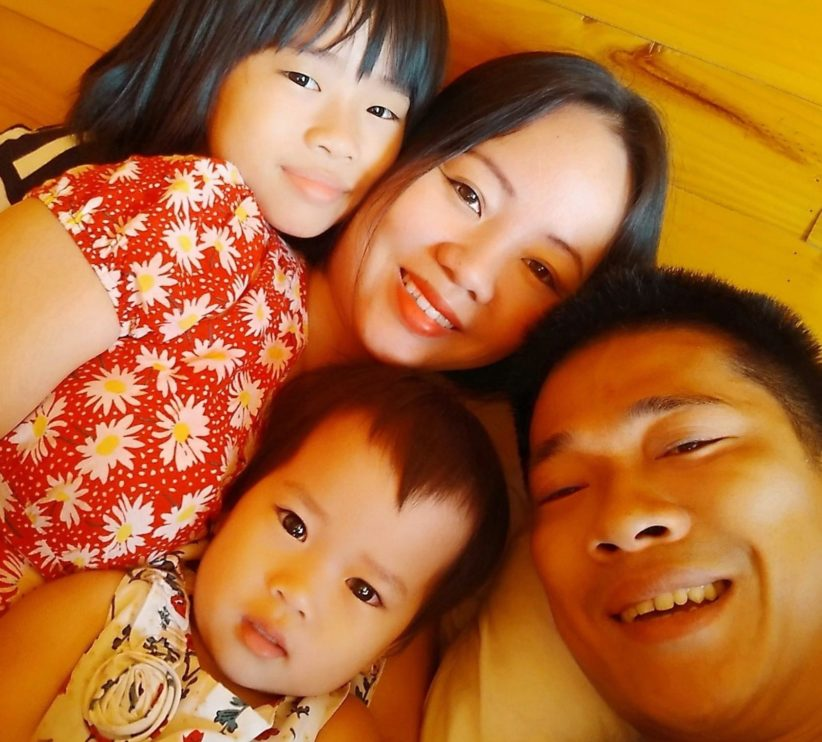 Linh and her family